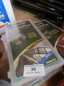5x Brookstone - 120pc Mini Blade Style Auto Fuses - New.
