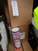 1x Box of 6x 750g tubs of Car Plan Ice melt