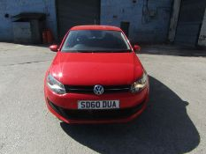 60 Plate Volkswagon Polo SE 1.2, 86,828 miles which appears to match up with previous MOT's (this