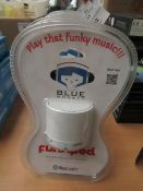 Blue Monkey - FunkPod Portable Bluetooth Speaker (White) - New & Packaged.