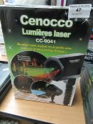 Cenocco - Laser Light Projector - Unchecked & Boxed.