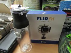 Flir FX - Action-Camera Sportscase - Unchecked & Boxed. 1x Built - Clear Water Bottle (Approx 750ml)