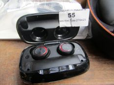 Wireless Bluetooth Earbuds (see image for design)   Unchecked