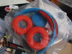JBL 2x Headphones   Unchecked & Not in Original Packaging