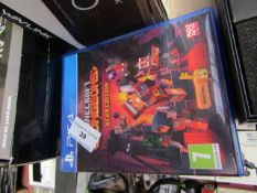 PlayStation 4 Minecraft Dungeons Hero Edition, RATED 7+   Unchecked & Boxed