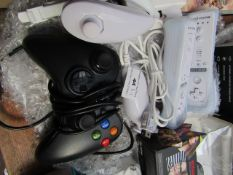 Wii Sports Motion Plus 4x Remote & Xbox 360 Controller   Unchecked