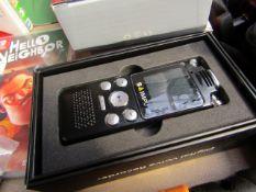 Saimpu Digital Voice Recorder   Unchecked & Boxed