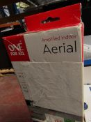 One For All Amplified Indoor Areial   Unchecked & Boxed