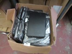 20 x Butter Fox Small Black Tablet Covers new & packaged