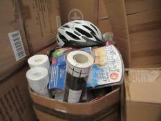 box of approx 25+ various items see image for examples
