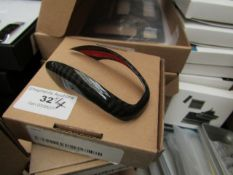 4 x Real Carbon Fiber Car Gear Shift Head Cover Trim for Giulia Stelvio RRP £28 each on Amazon new &