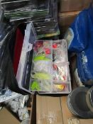1 x BlueNet Soft & Hard Fishing Bait Kit new in carry case see image