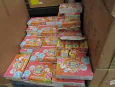 Approx 50 x Boxes of 12 Packs of 2 Macarons Candy Slimes - New & Boxed.