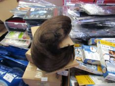 10 x X&Y Angel Light Brown Clip in Hair Pony Tails new & packaged