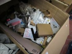 box of approx 100+ Amazon items new & packaged see image for examples