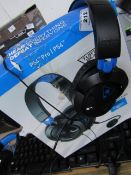 Turtle beach Ear force recon 50P Wired Gaming headset - Cant test due to Damaged Wire & Boxed -