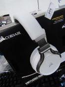 Corsair RGB Wireless Headset with mic - Tested for Sound but not Tested mic & Mic.