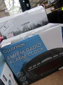 2x LLOYTON AM/FM Radio Alarm Clock | Unchecked & Boxed