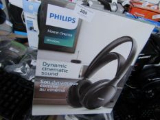 Philips Home Cinema Wireless Dynamic Cinematic HeadPhones - Unchecked & Boxed.