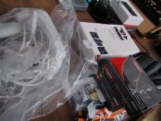 5 Items; Fringe LNP, Boxed & Unchecked, To Guard Baby Monitor, Unchecked Vastar Joy Con Repair