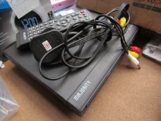Majority DVD & CD Player | Unchecked & Boxed