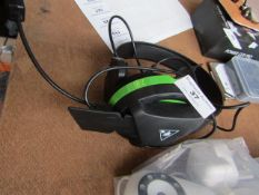 Turtle Beach Singular Headset (see image for design), Tested Working for Sound Only