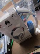 Rock Pappa Music Headphones, Unchecked & Packaged.