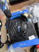 PS4 Charging Storage Tower, Unchecked and Boxed + Turtle Beach Gaming Headset, Tested Working for