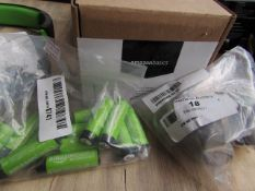 Amazon Basics Battery Charger, Unchecked + Boxed & 4x Amazon Basics with 12x Amazon Basics AA