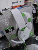 Turtle beach Wired Gaming headset - Tested for Sound but not tested mic & Boxed.