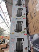 | 4X | DREW AND COLE REDIKETTLE 1.7L-1.2L | UNCHECKED & BOXED | NO ONLINE RE-SALE | SKU