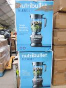 | 2X | NUTRI BULLET BLENDER, 1000W, 1.6L | UNCHECKED & BOXED | NO ONLINE RESALE | RRP CIRCA £99.99 |