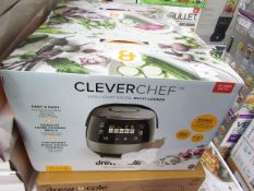 | 2X | DREW & COLE CLEVER CHEF MULTI-COOKER | UNCHECKED & BOXED | NO ONLINE RESALE | SKU
