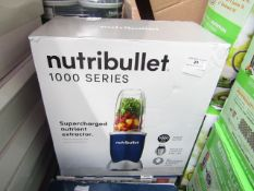 | 3X | NUTRI BULLET 1000 SERIES | UNCHECKED & BOXED | NO ONLINE RESALE | SKU - | RRP CIRCA £99.