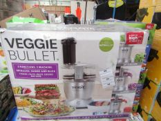 | 1X | VEGGIE BULLET 12 PIECE SET | UNCHECKED & BOXED | NO ONLINE RESALE | SKU- | RRP £129.99 |