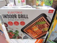 | 1X | ELECTRIC INDOOR GRILL | UNCHECKED & BOXED | NO ONLINE RESALE | SKU C060541512825 | RRP £- |