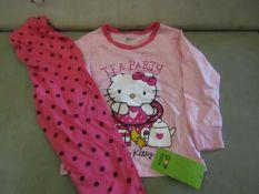 2 X Pairs of Baby Gap Girls Pyjamas Aged 6yrs New & Packaged