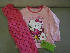 3 X Pairs of Baby Gap Girls Pyjamas Aged 7yrs New & Packaged