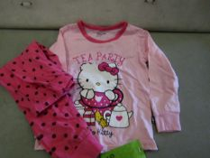 2 X Pairs of Baby Gap Girls Pyjamas Aged 7yrs New & Packaged