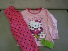 4 X Pairs of Baby Gap Girls Pyjamas Aged 2yrs New & Packaged