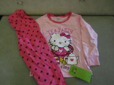 3 X Pairs of Baby Gap Girls Pyjamas Aged 3yrs New & Packaged
