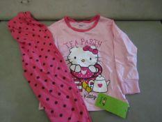 3 X Pairs of Baby Gap Girls Pyjamas Aged 6yrs New & Packaged