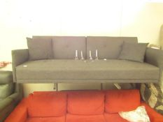 | 1x | MADE.COM 3 SEATER SOFA BED | NO VISIBLE DAMAGE & MISSING ONE SCATTER CUSHION | RRP £599 |