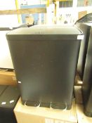 | 1x | MADE.COM COLTER DOUBLE SOFT CLOSE 60L RECYCLING PEDAL BIN MATT BLACK | MAY CONTAIN MARKS OR