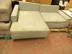 | 1X | MADE.COM GREY SOFA BED | COULD DO WITH A REALLY GOOD CLEAN | RRP £- |