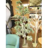 | 1x | COX & COX OUTDOOR ARTIFICIAL SPRUCE PRE-LIT CHRISTMAS TREE | BASE SLIGHTLY DAMAGED & NO BOXED
