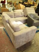 Costco Thomasville 3pc Fabric Sectional Sofa with Ottoman | Grease Mark on Backside & Dirty Marks