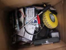 1x BOX OF VARIOUS TOOLS 506 This lot is a Machine Mart product which is raw and completely unchecked