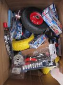 1x BOX OF VARIOUS TOOLS 508 This lot is a Machine Mart product which is raw and completely unchecked