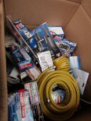 1x BOX OF VARIOUS TOOLS 514 This lot is a Machine Mart product which is raw and completely unchecked